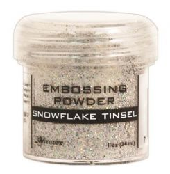 Ranger - Specialty 1 Embossing Powder - Snowflake Tinsel